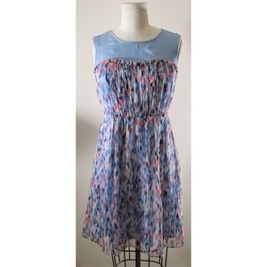 ❤️ Milly of New York silk watercolor dress